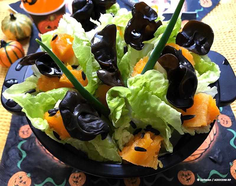 Salade folle d'halloween